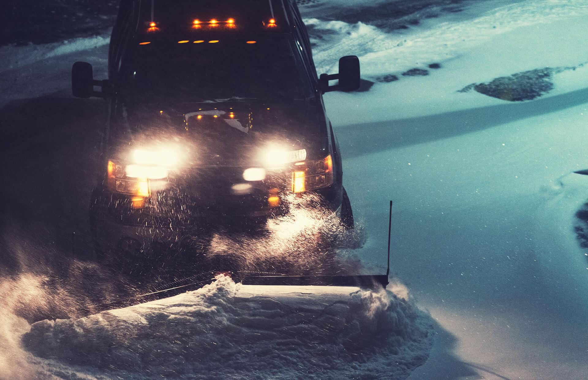 Snow removal fernie